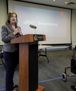 Lori James speaking