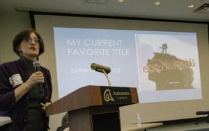Sharon Bliss speaking